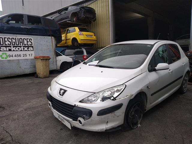 PEUGEOT 307 (9HY) 1.6 HDI (S2) (2005-2008) 80KW (2007)