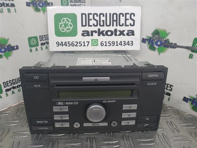 RADIO CD DVD FORD FIESTA 1.3 GASOLINA (CBK) 51 (2006)